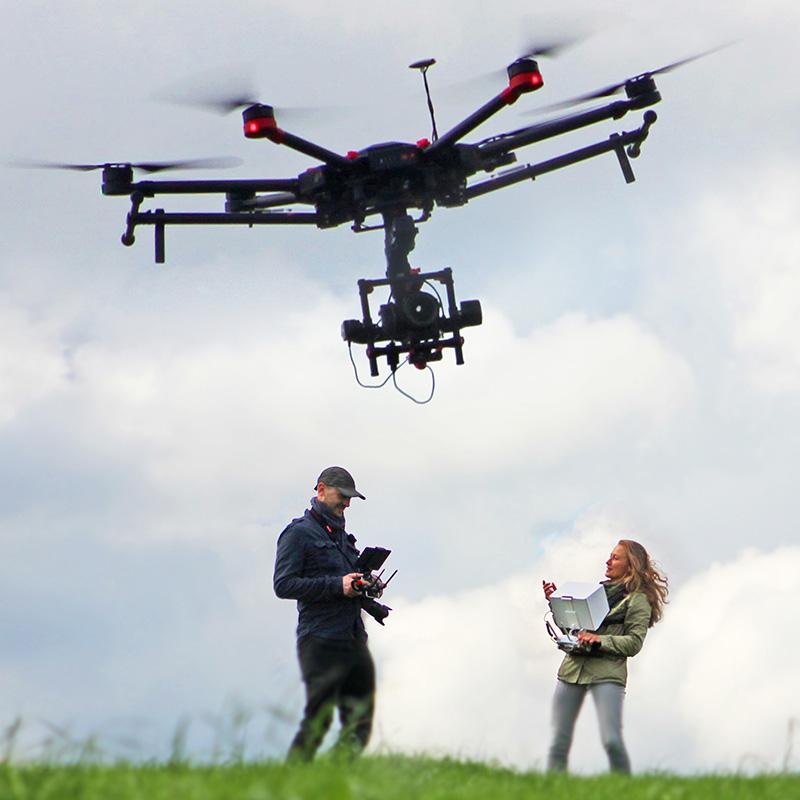 Drohnenvermietung Matrice 600 mit Sony-alpha-7R heysky-rent