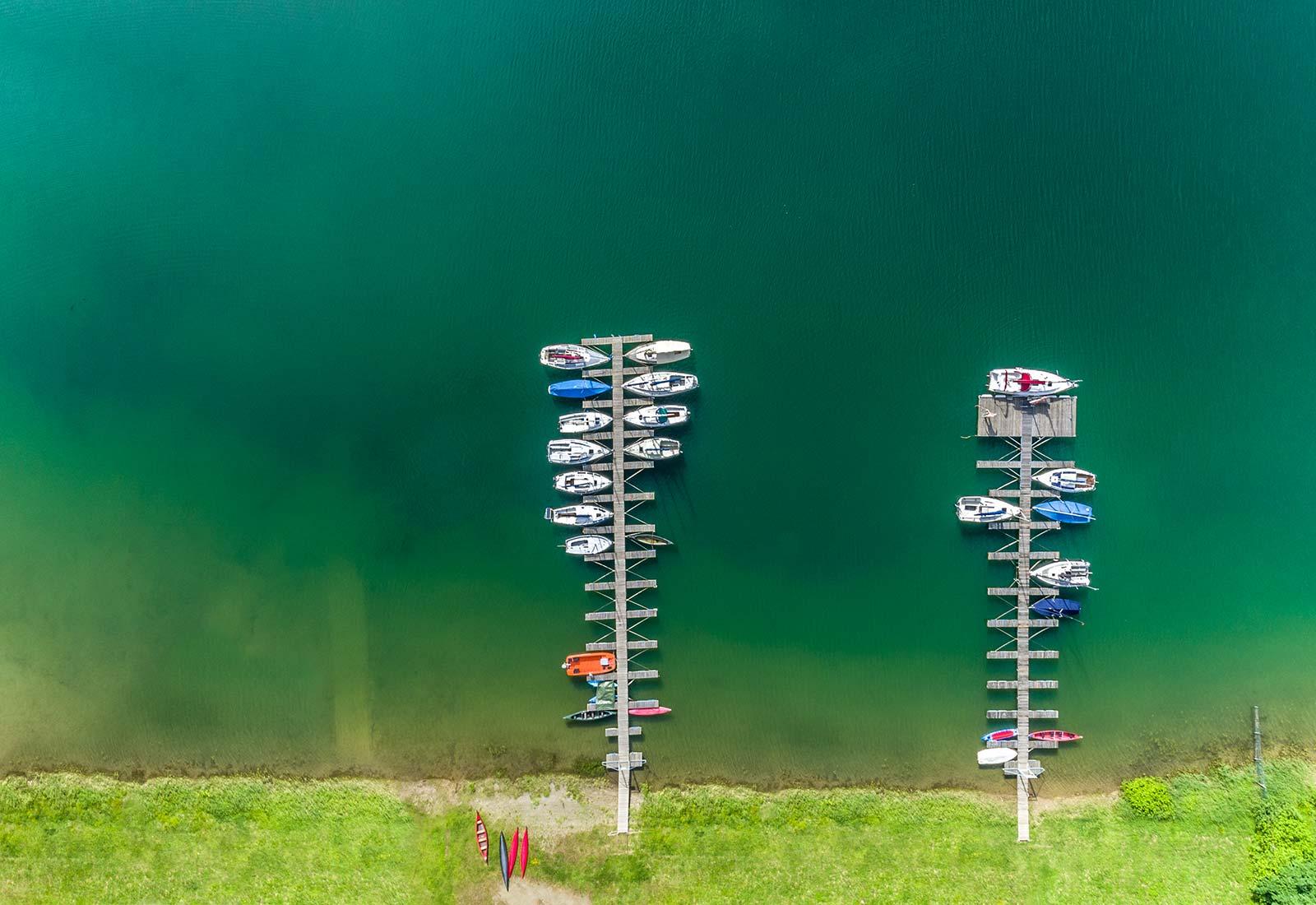 heysky Drohnenfotografie erstellen lassen Aggertalsperre von oben