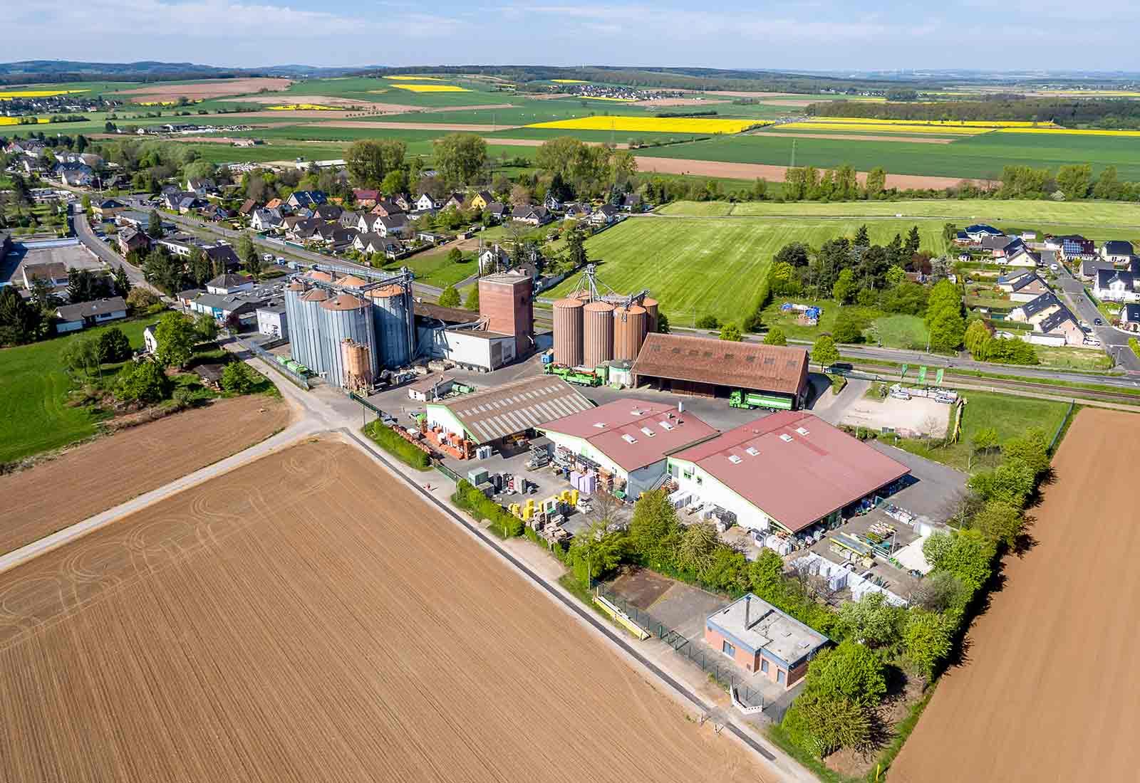 heysky Drohnenfotos Genossenschaft in der Eifel