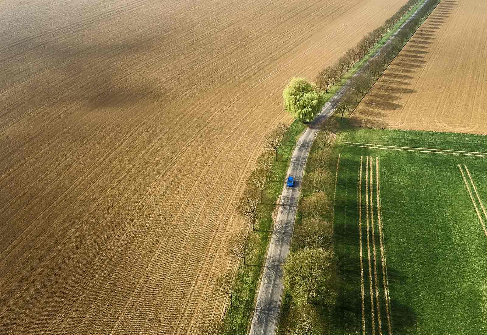 heysky Drohnen-Luftaufnahmen mit Drohnen Drohnenfotos Strasse bei Siegburg